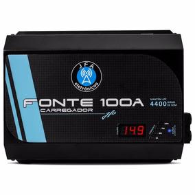 Fonte Carregador Bateria Digital Jfa Turbo 1000 100a Bivolt