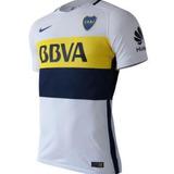 Camiseta Boca Juniors Suplente Blanca Match Modelo Jugador