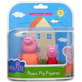 Pepa Peppa Pig Figuras X 2 Amigos Mama Pig Cerdita Y Peppa