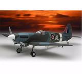 Kyo11872b Aero Spitfire Sqs Mkv Warbird Gp50 Arf - Freehobby