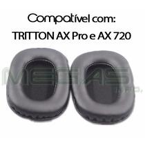 Espumas Almofadas Compatíveis Com Tritton Ax Pro & Ax 720