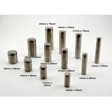 Separadores Vidrio Cristal Herraje Señalizacion 12mm X 30mm