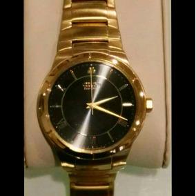 Reloj De Caballero Citizen Ecodrive Chapa De Oro