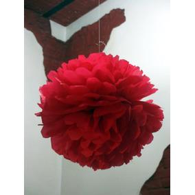 Pompones De Papel De Seda, Flores De Papel Seda Grande