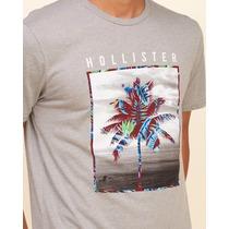 2 Camisa Masculina Da Hollister Roupa Original Camiseta