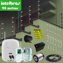 Kit Cerca Elétrica Residencial Intelbras C/ Alarme 90 Metros