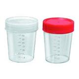 Coletor Universal 80ml Para Fezes Urina Escarro 100 Unidades