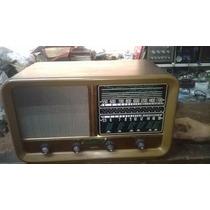 Radio Valvulado-década De 60: 2 Faixas- Marca Transivix