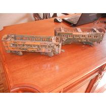 2.- Antiguos Vagones De Tren