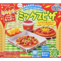 Popin Cookin Pizza Juguete Comestible Comida Kawaii Japon
