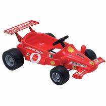 Auto Ferrari F1 Coche Deportivo A Pedal Biemme Casa Valente