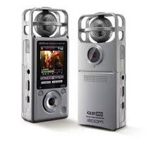 Grabador Digital Zoom Q2hd Video Hd Audio Micrófono Cámara
