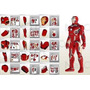 Planos Traje Iron Man Mark 4 Y 6 Marvel, Vengadores