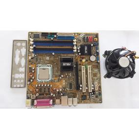 Kit Placa Mãe Asus P5gd1 P4 3000/2m/800 Com Cooler E 2gb Ram