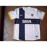 Camiseta Fútbol Boca Nike Bbva 2012 2013 Suplente Talle Xs