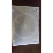 Capa Para Dvd De Plástico Transparente 10 Unidades.