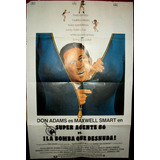 Superagente 86 Don Adams !!! Afiche Cine Orig 1980 N388