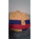 Mochila Tejida Con Colores De La Bandera De Colombia