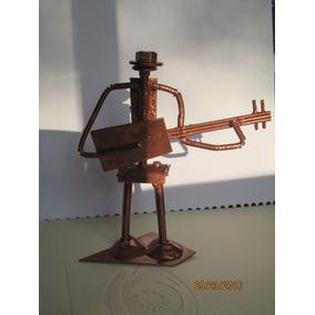Miniatura Em Ferro Artesanal - Instrumentos Musicais