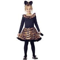 Disfraz Para Niña Vestido De Tigre Del Niño Del Traje De Ha