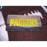 Green Bay Packers Nfl Placa Tipo Automovil Empacadores