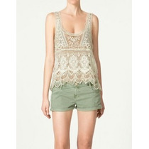Zara Trf Top Crochet M 008