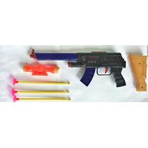 Arminha De Brinquedo Rifle Espingarda Arma Dardos