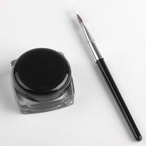 Gel Delineador De Ojos Contra Agua + Pincel Maquillaje