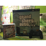 Ps3 - 250 Gb Con Gta V Y Mando.