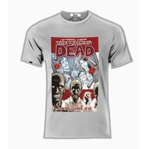 Playeras O Camiseta Walking Dead Comic Nueva Jinx!