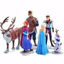 Set Frozen 3piezas Juguete Niña Niños Muñeca Ana Elsa Disney