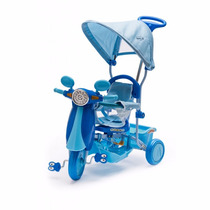 Triciclos Infantiles Rainbow Nene O Nena Motoneta Capota