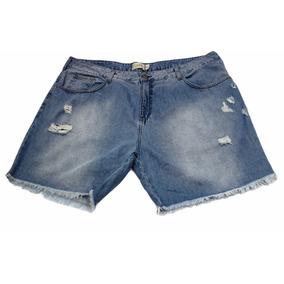 Shorts Bermuda Jeans Plus Size Barato - 5010