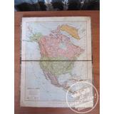 Antiguos Mapas Escolares Estarada C/u 1930 Carton Duro