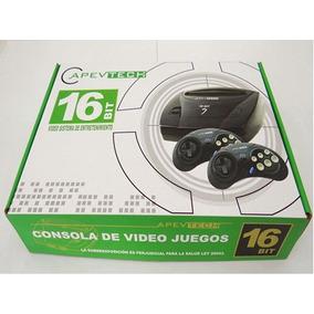 Sega Apevtech Retro Con 2 Joystick Incluye 109 Juegos Regalo