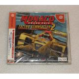 Monaco Grand Prix - Para Sega Dreamcast Japonesa