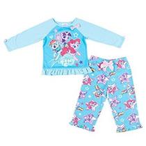 Disfraz Para Niña Mi Pequeño Pony Girl 2 Pieza Pijama Set-a