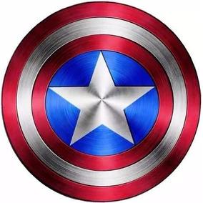 Kit Imprimible Capitan America Diseñá Tarjetas Invitacion