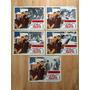 5 Lobby Cards Espia Loco Mundo Matthau Jackson Hopscotch.