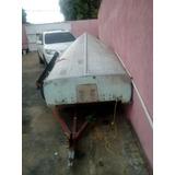 Bote De Aluminio De 12pies Con Motor Mercury 25hp Mas Carruc