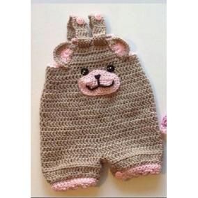 Macacão De Crochê Bichos+ Tenis All Star Em Croche Pra Bebe