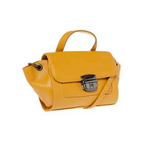Bolsa Couro Dumond Amarela | Original