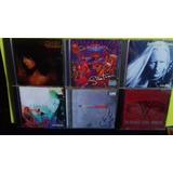 Cds Ozzy Van Halen Santana Skid Row Winter Alanis Lote C 6 C