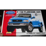 Ford F-150 4x4 Flareside Pickup Lindberg Esc 1/25 Modelo New