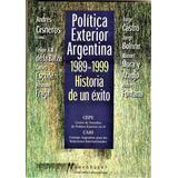 Política Exterior Argentina 1989-1999 Cepe Impeca Flores Env