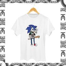 Camiseta Sonic - Dropdead - Camiseta Louca - Legal