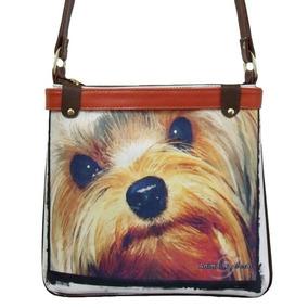 Bolsa Cachorro York Shire Forever Animal Racional Carão