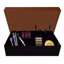 Caixa Organizadora Onçinha Porta Maquiagens E Acessórios