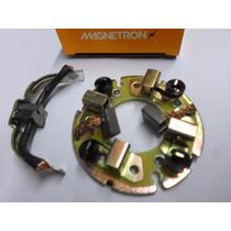 Escova Motor Partida Xt 600 Jogo C/ Suporte Magnetron