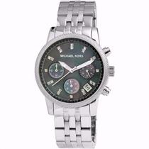 Michael Kors Bracelet Black Mother-of-pearl Dial Mk5021